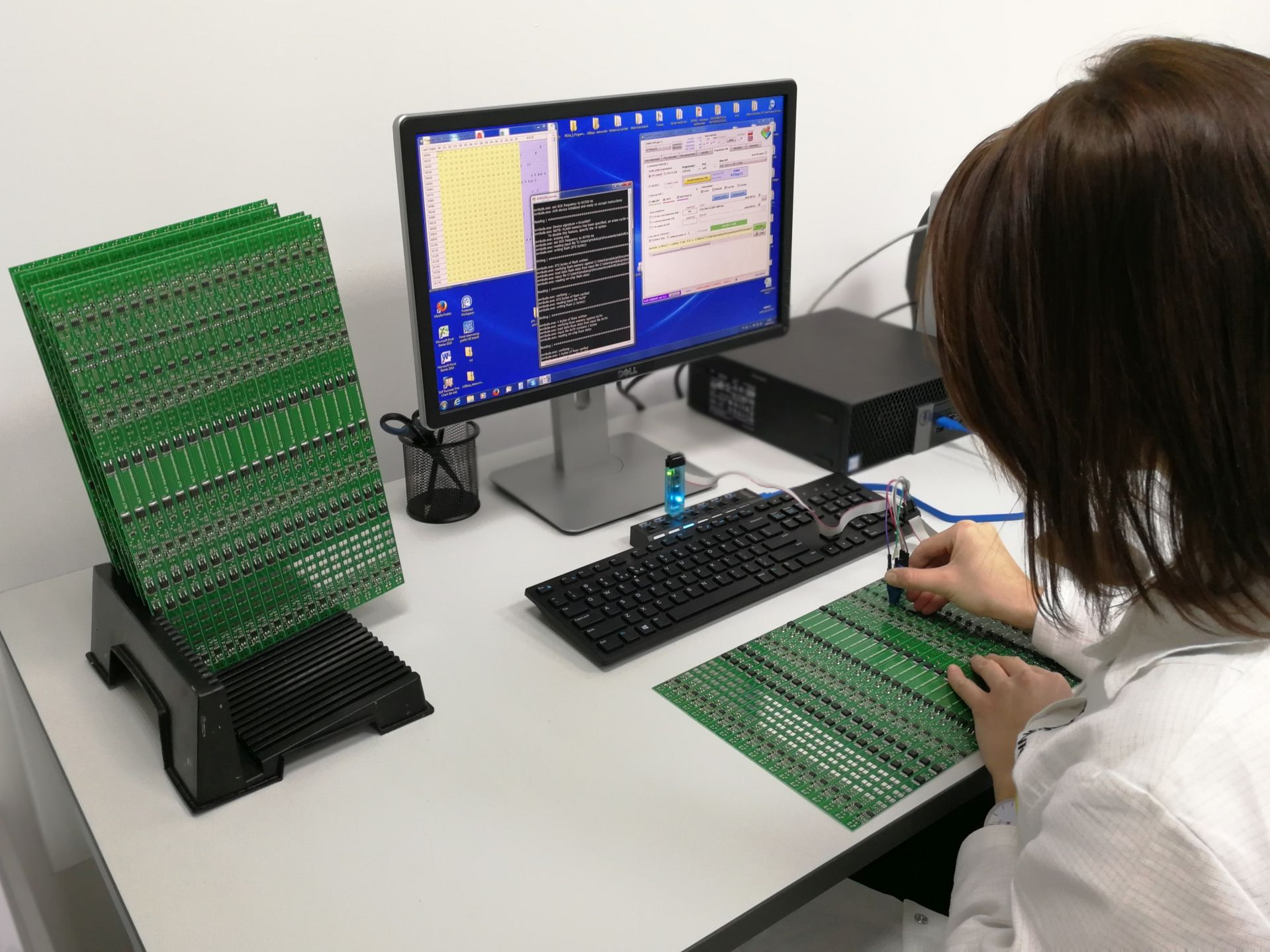 Testy jakościowe elektroniki