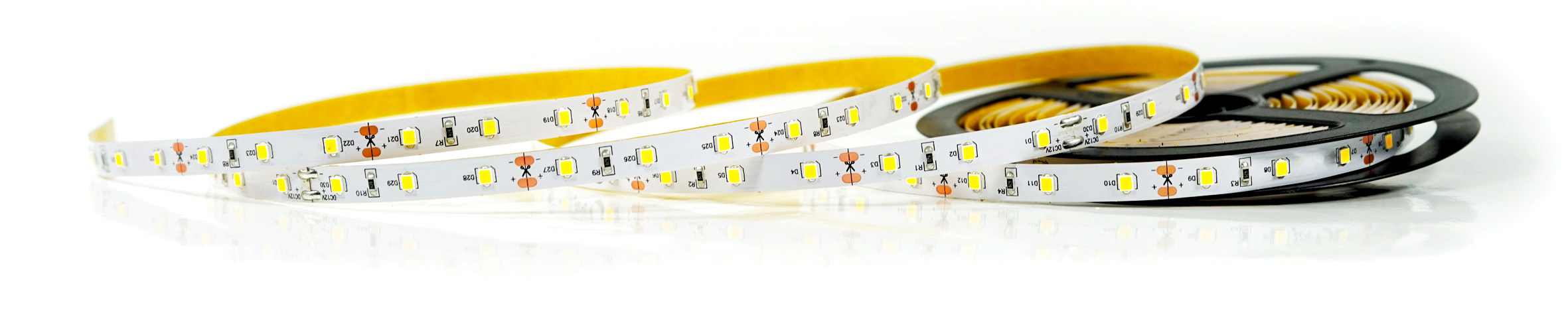 Rolka taśmy LED wyprodukowanej przez Creatronic