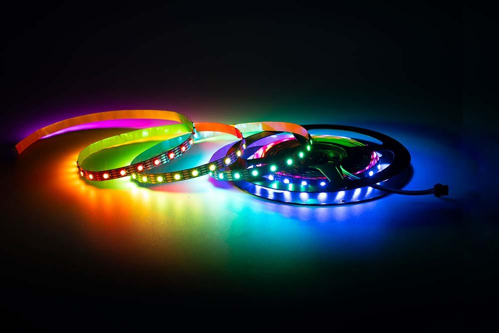 Taśma LED adresowalna. Creatronic produkcja taśm LED pod Twoją marką.